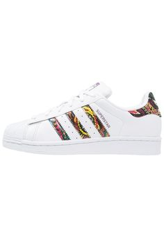 adidas Originals SUPERSTAR - Trainers - white/mid grape for with free  delivery at Zalando