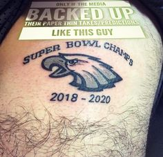 I wish the media would back up their paper thin / Flip Flopping Takes And Predictions Like This Guy . . . . . . . #USA #Blessed #God #Jesus #GodBless #America #Christian  #Fitness #Tattoo  #Beautiful #Football #GodBlessAmerica #Eagles  #Love #Sports #NFL #SuperBowl  #Instagood #FantasyFootball  #Denver #Ncaa #CollegeFootball #PhiladelphiaEagles  #Military #News @cj_wentz11 @nfl @espnnfl @foxsports @cbssports @nbcsports  @zachertz