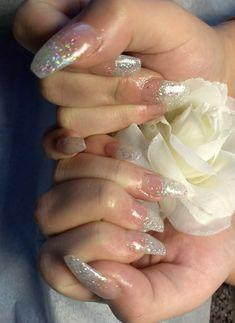 Bridal nails. HawaiiNailsFamily.com