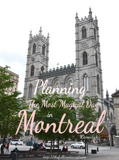 Looking for that perfect Toronto day trip? Why not escape to Canada's second-largest city: Montreal, Quebec. Here is a 24-hour itinerary to the French Canadian capitol including the best way to get to and from Old Port, Old Montreal, Notre Dame, Mont Royal and more! (Also includes gluten-free & vegan food stops!) The Full-Time Tourist, 2017 ©