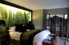Forest room at Kanonkop Guesthouse in Knysna, South Africa