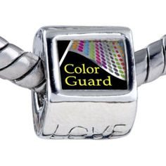 Pugster Bead Travel Color Guard Photo Love European Charm Beads Fits Pandora Bracelet Pugster. $12.49. Unthreaded European story bracelet design. Fit Pandora, Biagi, and Chamilia Charm Bead Bracelets. Hole size is approximately 4.8 to 5mm. It's the photo on the love charm. Bracelet sold separately