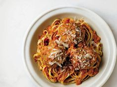 Double the recipe for the meatballs to use in another meal - they're that good!