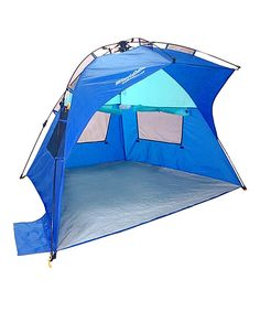 Love this Blue EasyGo Portable Shelter by EasyGoProducts on #zulily! #zulilyfinds Portable Tent
