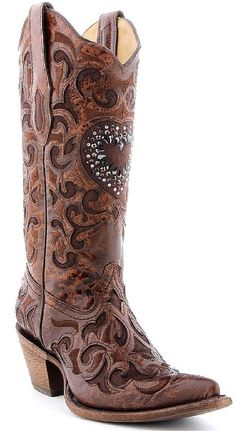 Beaded Heart Boots | Cowgirl Brides & Country Weddings