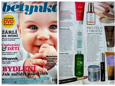 Betynka 10/2014 vosk na vlasy + řasenka + kondicioner Brilliant Care