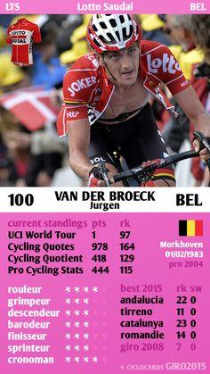 Jurgen Van der Broeck Lotto Saudal Giro 2015 ciclocards