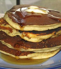 Cinnamon Applesauce Pancakes Recipe - FOOD - BREAKFAST