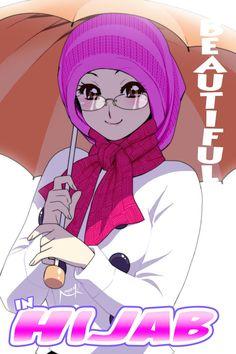 86 Imej Islamic Anime Terbaik Perempuan Kesenian Islam