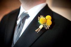Boutonniere http://tinyurl.com/6jz3m9h #Flowers #Boutonniere #Billy_Balls