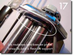 Démontage et remontage d'une machine à pâte Imperia Flask, Barware, Summer Rolls, Bar Accessories, Glas