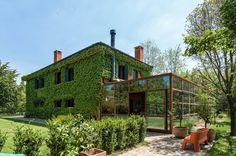 Villa in acciaio corten, Treviso, 2013 - zanon architetti associati