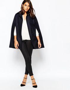 Пальто-накидка от Asos - фото