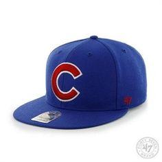 Chicago Cubs  47 Brand Flat Brim Snapback Hat 7f57d51b7f4a