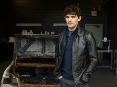 The first pictures of Colin Morgan in The Fall have been released and he looks like he means business.