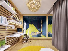 Family friendly home packed with modern decor ideas & home design features for different rooms. Find storage ideas, new furniture styles and colour combinations Furniture Styles, New Furniture, Futuristisches Design, Flat Interior, Lounge, Skyfall, Living Room Modern, Contemporary Interior, Modern Decor