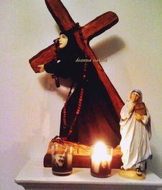 Vows, Statues, Christ, Saints, Santos