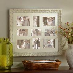 Distressed White Harlow Collage Frame | Kirklands reg $29.99 sale $22.49