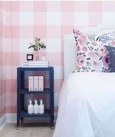 New wallpaper accent wall bedroom girl wallpapers Ideas Decor, Bedroom Wallpaper Accent Wall, Home Bedroom, Kids Room Wall, Bedroom Wall, Interior, Bedroom Decor, Girl Room, Home Decor