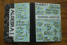 Interactive Notebook Cover: Numbers About Me