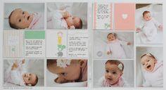 www.conibaer.de - Baby pages 4 month old / Baby-Seiten 4 Monate alt #plxsu 'projectlife #babyalbum