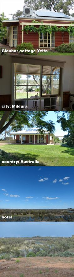Glenbar cottage Yelta, city: Mildura, country: Australia, hotel Australia Hotels, Tour Guide, Pergola, Cottage, Tours, Outdoor Structures, Mansions, Country, House Styles