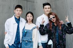 Street style: Shin Hye Jin, KIm Ye Rim, Shin Jae Hyuk, Kwon Hyun Bin shot by Alex Finch at Seoul Fashion Week Fall 2015
