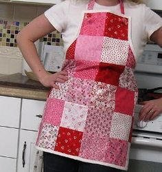 Surprise your sweetie by learning how to make a simple apron and sewing this Knotty Little Apron for Valentine's Day. Use Valentine's Day novelty fabrics or make patchwork aprons for any other holiday with this tutorial!
