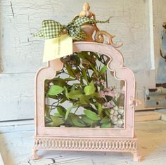 French Pink Display Terrarium