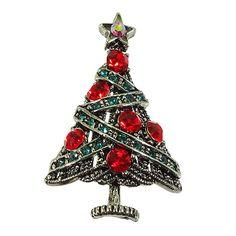 Weihnachtsbaumbrosche