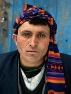 Dildor Shah (older brother). One family..Many Wakhis are blue eyed. Some say descendant of Alexander the Great..Winter expedition through the Wakhan Corridor and into the Afghan Pamir mountains, to document the life of the Afghan Kyrgyz tribe. January/February 2008. Afghanistan