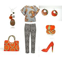 """Africa style"" by nk-omsk on Polyvore"