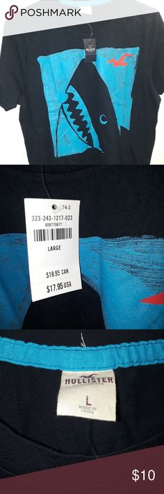 Hollister tshirt Really cute shirt Nwt never worn Hollister Tops Tees - Short Sleeve