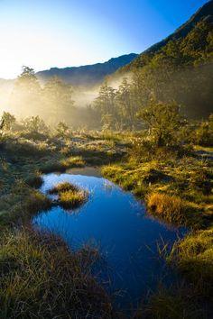 'New Zealand, Southland, Fiordland National Park.' by Jason Friend