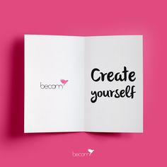 """""""Create yourself""""... Queda tan solo un mes para que Becom cumpla un año. Meses antes de embarcarme en este divertido y apasionante proyecto, tatué en mi brazo derecho la palabra """"CREATE"""", fue el momento en el que me di cuenta de que yo tenía mi propia elección, que era libre de escoger y de definir quien era, tenía el poder de crear, a mi marca, a mi misma. Y así lo hice, y así nació Becom. Todos tenemos el poder de crearnos. :) www.becomibiza.com"""