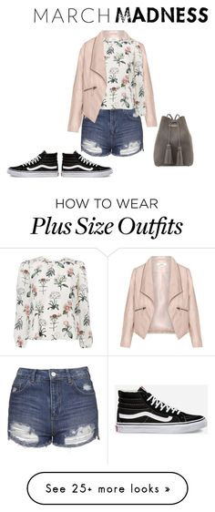 """happiness in hi-tops"" by kyliealex on Polyvore featuring Zizzi, Vans, Topshop and Tom Ford"