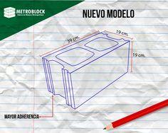 New design by the company Metroblock sas.