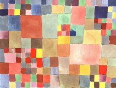 Flora on Sand by Paul Klee