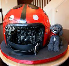 Image result for vespa helmet cake Vespa Helmet, Bicycle Helmet, Vespa Cake, Riding Helmets, Hats, Artists, Funny, Image, Hat