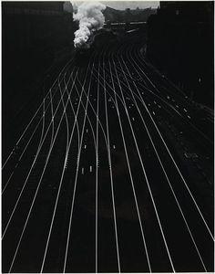 Ergy Landau, Gare Saint-Lazare, 1934