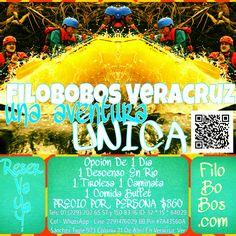 #filobobos una #aventura única http://www.Facebook.com/RioFilobobosVeracruz #Veracruz #Mexico