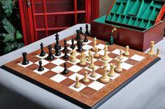 nice The Capablanca Chess Set, Field, & Board Mixture