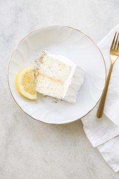 Lemon Elderflower Cake Recipe
