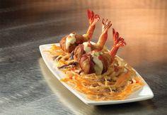 Shrimp Enbrochette, mmm bacon!