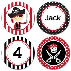 Customized Cupcake Toppers