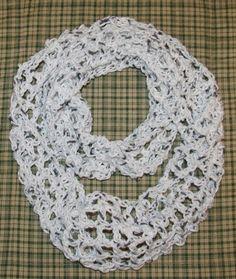 Summer Infinity Scarf Free Crochet Pattern