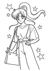 Znalezione obrazy dla zapytania sailor moon coloring pages printable Sailor Moon Stars, Sailor Jupiter, Sailor Moon Manga, Stars And Moon, Sailor Moon Coloring Pages, Coloring Pages For Girls, Cool Coloring Pages, Coloring Sheets, Coloring Books