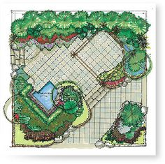 1000 images about landscape designs on pinterest plot for Plot plan drawing software