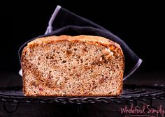 A quick, easy and delicious Banana Bread. Free from gluten, grains, dairy, nuts and refined sugar. Perfect for breakfast, lunches and snacks.