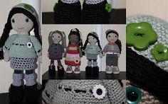 crochet doll pattern, Autumn